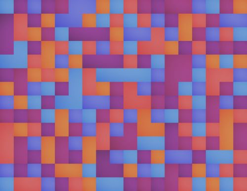 squares background geometric