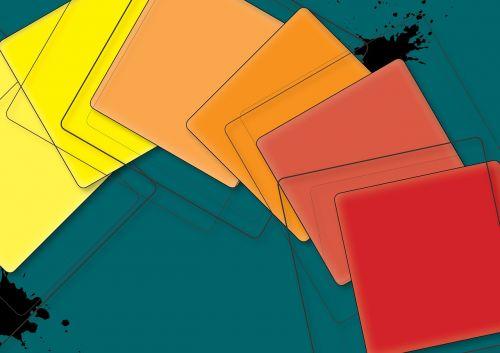 squares colored blob