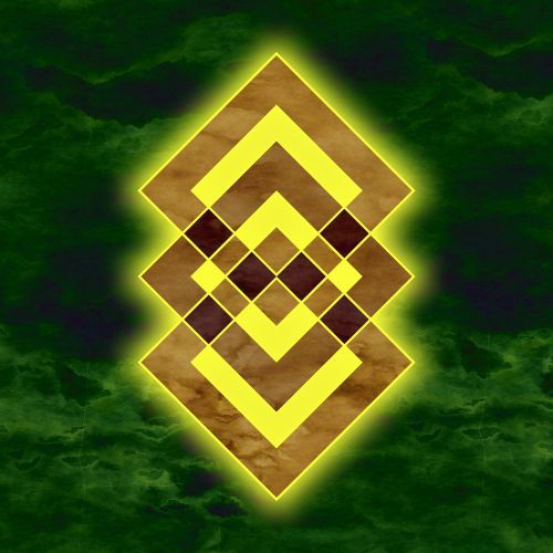 squares form pattern