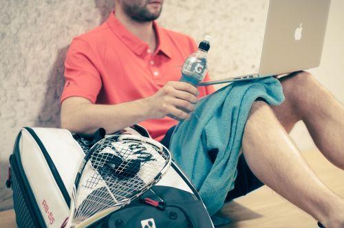 squash sport man