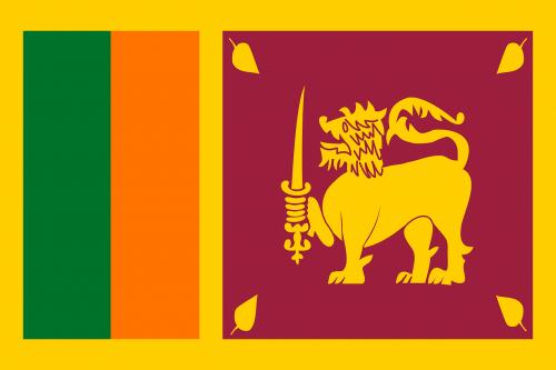 sri lanka flag national flag