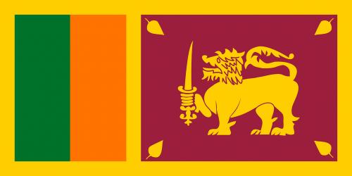 sri lanka flag country