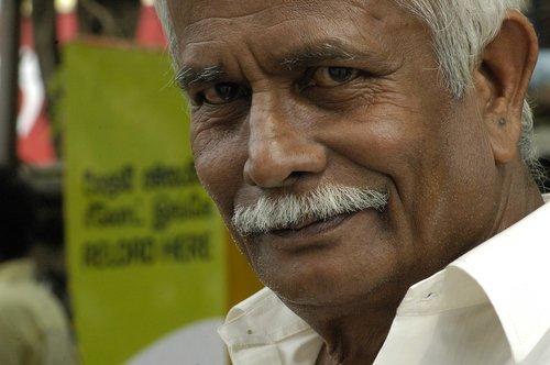 sri lanka  india  old man