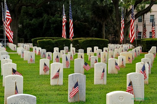 st  augustine national cemetery  grave markers