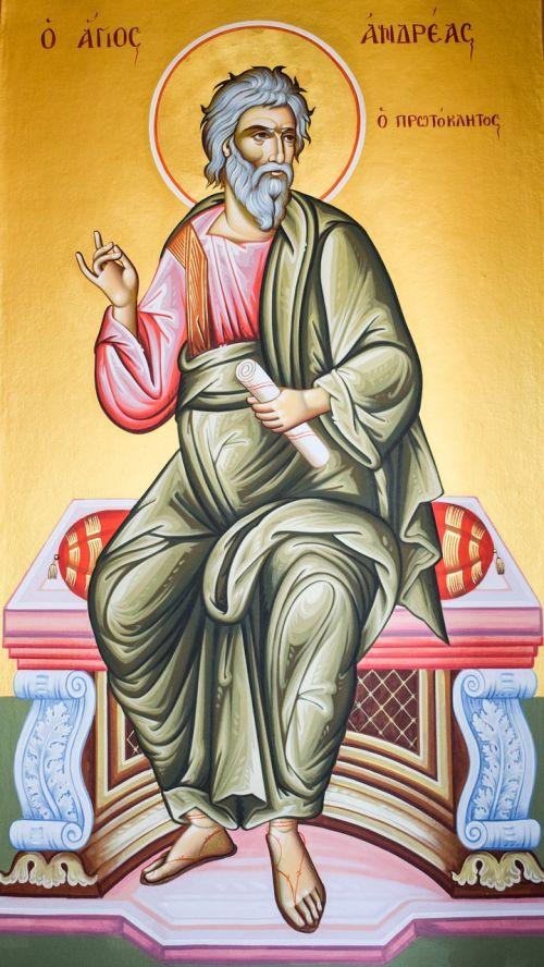 st andrew saint iconography