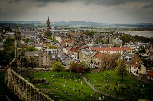 st andrews,Škotija,Jungtinė Karalystė,turizmas,architektūra,orientyras,kraštovaizdis,istorinis