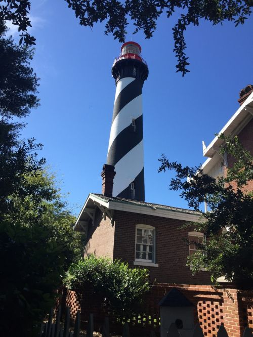 st augustine lighthouse summer