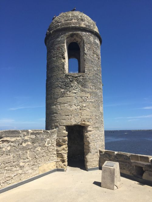 st augustine fort history