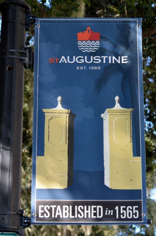 St. Augustine, Florida Sign