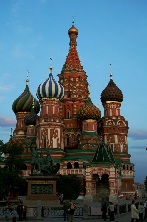 st basil's cathedral ornate decorative