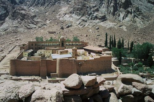 st catherine's monastery sinai greek orthodox
