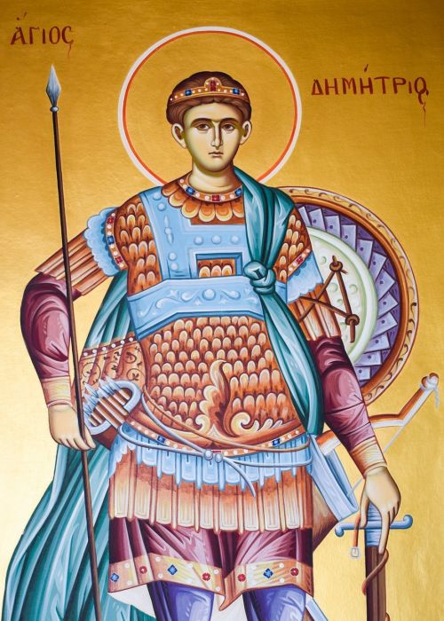 st demetrius saint iconography