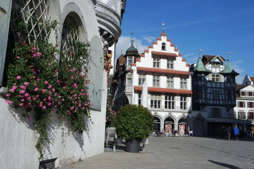 st gallen old town historic home