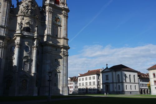 st gallen old town the monastery district