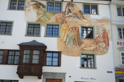 st gallen old town town home