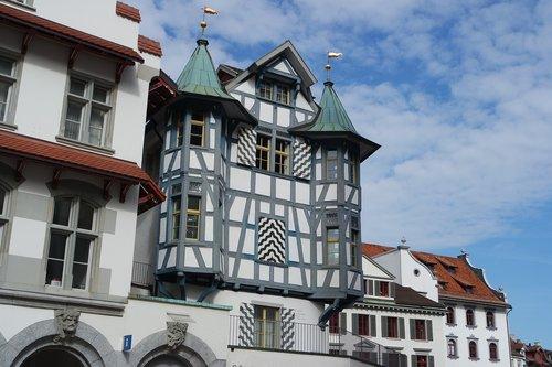 st gallen  historic center  switzerland