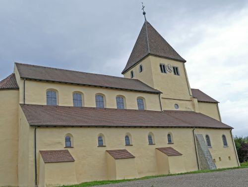 st georg church reichenau island