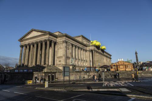 St Georges Hall On Liverpool