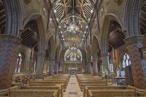 st giles church  abbey  minster