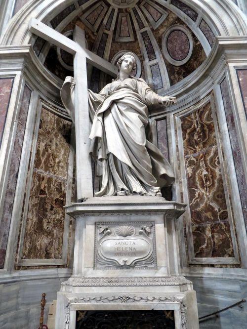 st helena st peter's basilica rome