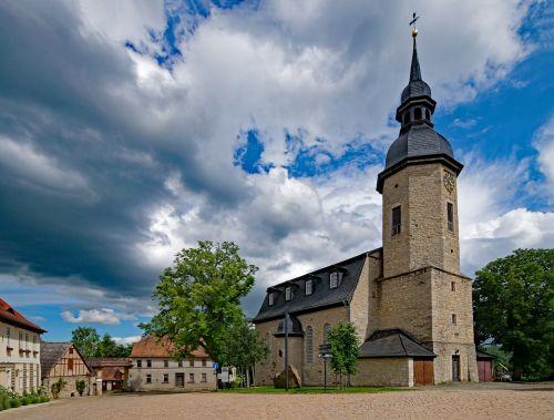 st jacobi church dornburg