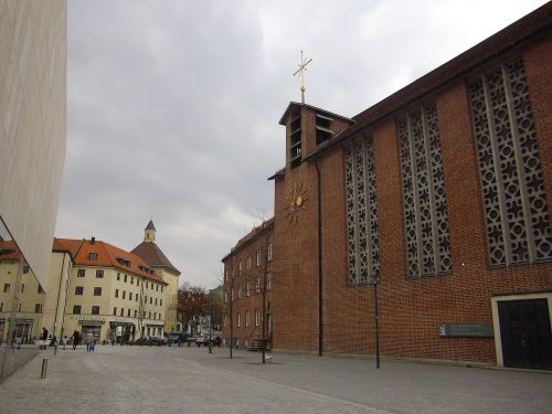 st jacob's church munich jakobsweg