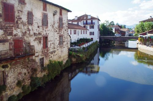 st-jean-pied-de-port lower navarre basque country