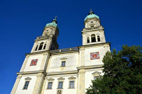architecture st lorenz basilica kempten