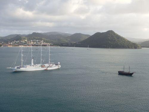 st lucia cruise sailing