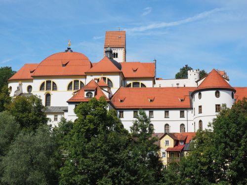 st mang's abbey füssen monastery