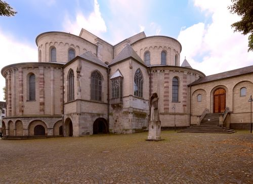 st maria capitol in romanesque churches cologne