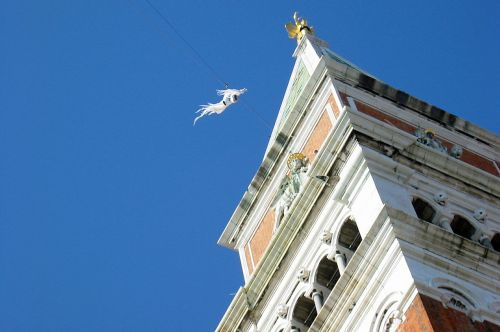 st mark's campanile venice italy