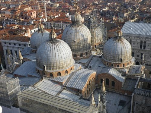 st mark's square venice roof layout