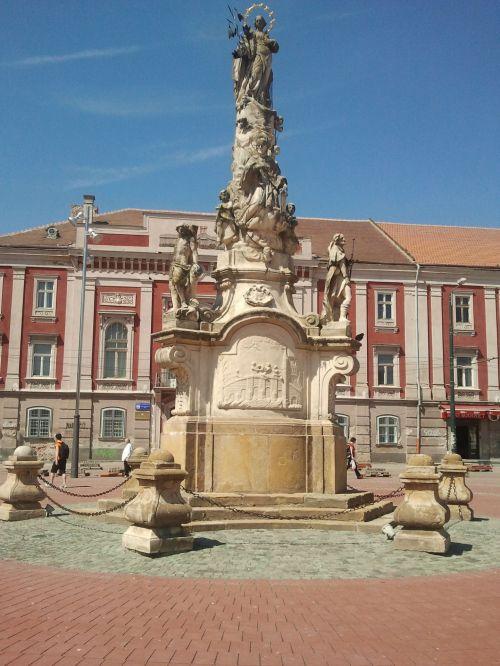 St. Mary Monument From Timisoara