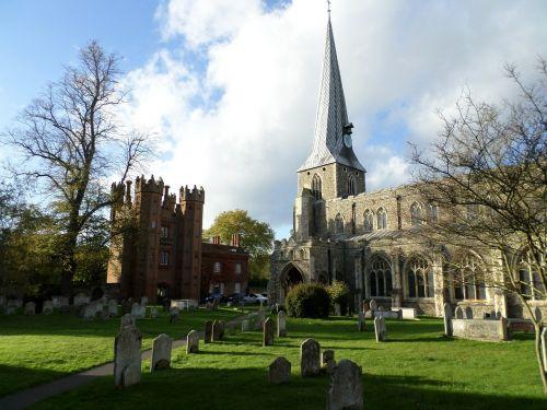 st marys church deanery tower hadleigh