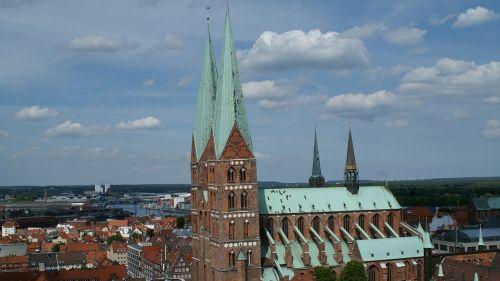 st mary's church lübeck gothic
