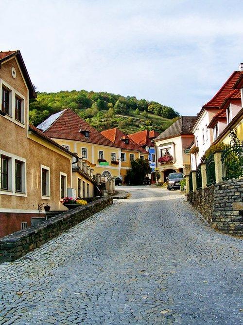 st michael's  austria  village detail