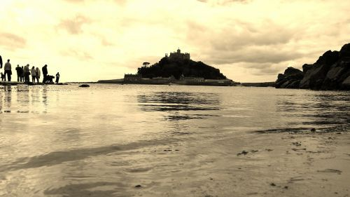 st michael's mount cornwall england