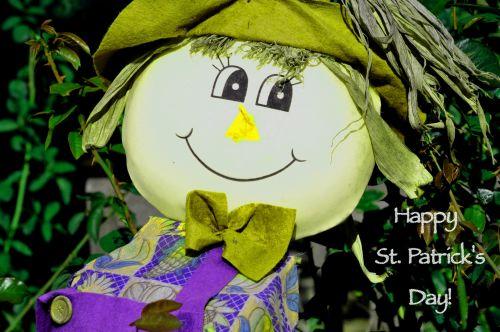 St. Patrick's Day Scarecrow