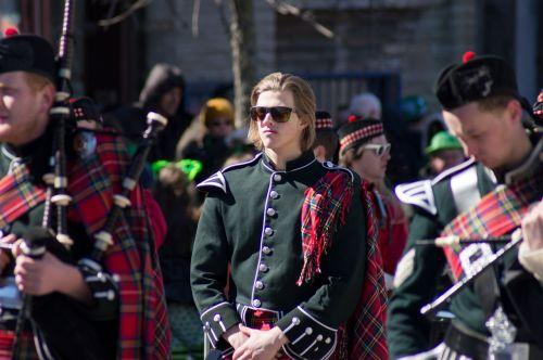 st patrick's day piper boston