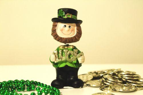 st patrick's day irish gold