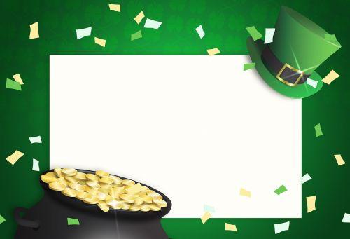 st patrick's day saint patricks day pot of gold
