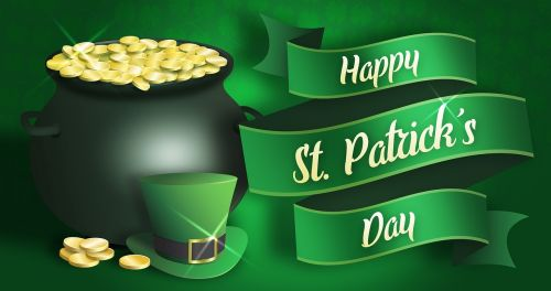 st patrick's day saint patricks day cauldron