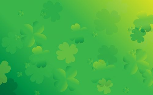 st patricks day background clover