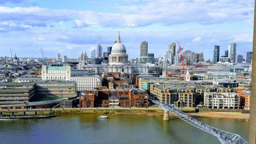 st paul's london millenium bridge