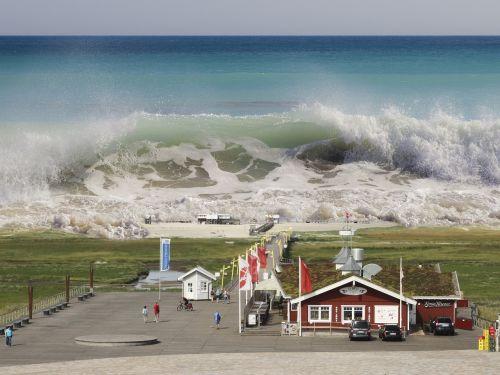 st peter-ording tsunami seaquake