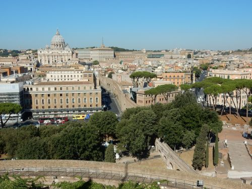st peter's basilica rome creep distance