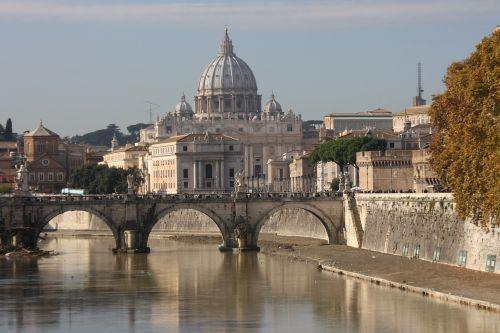 st peter's basilica rome bridge