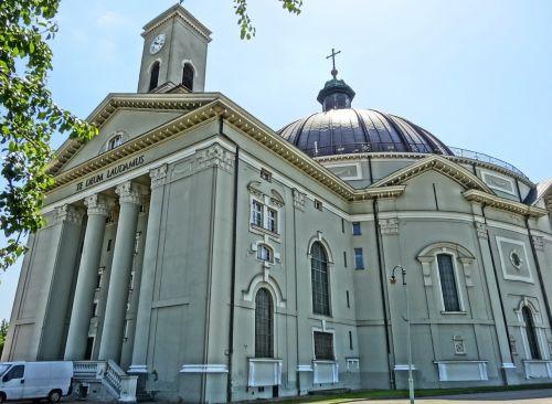 st peter's basilica vincent de paul dome
