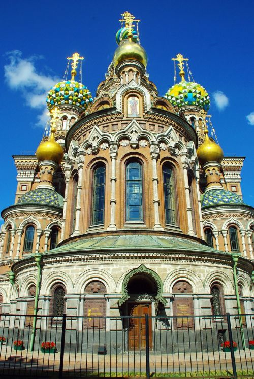 st petersburg church savior on blood